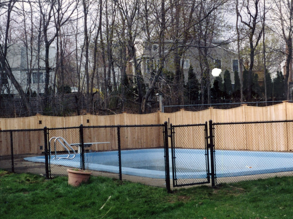 black single men in fence Buy aspen style 3-rail steel fence kit, powder-coated black men's grooming our easy diy fence systems assemble and install easily.